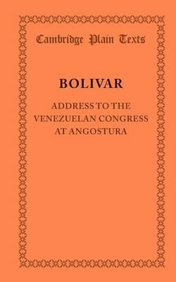 Addres Venezuela Congress Angostura