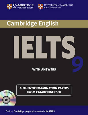 Cambridge IELTS 9 Self-study Pack (Student's Book with Answers and Audio CDs (2))