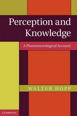 Perception and Knowledge