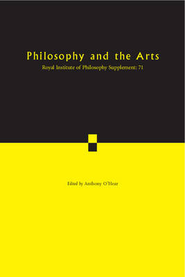 Philosophy and the Arts v71