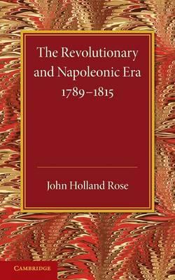 Revolution Napoleonic Era 1789-1815