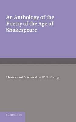 Anthology Poetry Age Shakespeare