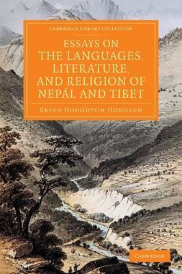 Essays Lang Lit Relgn Nepal Tibet