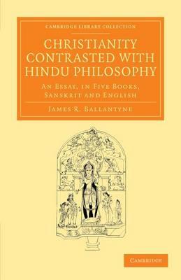 Chrstianty Cntrsted w Hindu Phlsphy