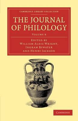 The Journal of Philology v8