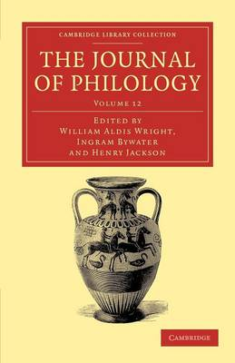 The Journal of Philology v12