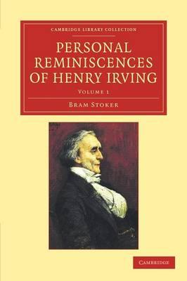 Personal Reminisc Henry Irving v1