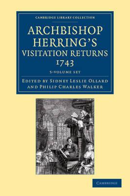 Archbishop Herring's Visitation Returns, 1743 5 Volume Set