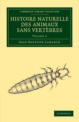 Histoire naturelle des animaux sans vertèbres
