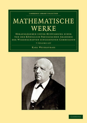 Mathematische Werke 7 vol set