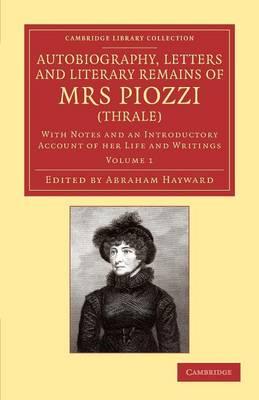 Auto Letters Lit Rem Mrs Piozzi v1