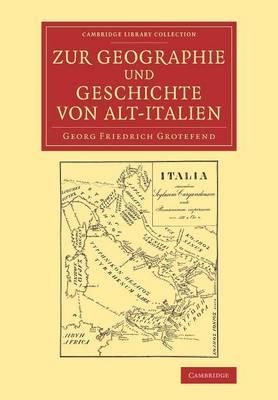 Zur Geographie und Geschichte von Alt-Italien