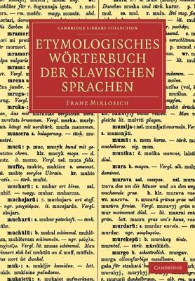 Etymologisches Wörterbuch der slavischen Sprachen