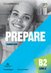 Prepare Level 6 Teacher's Book with Downloadable Resource Pack