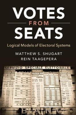Votes from Seats: Logical Models of Electoral Systems