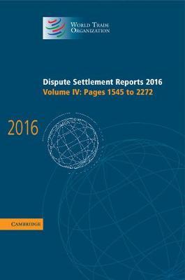 Dispute Settlement Reports 2016 V4