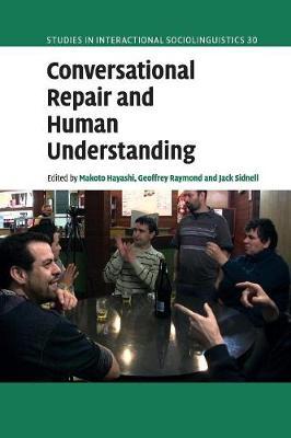 Conversatnl Repair Human Undrstndng