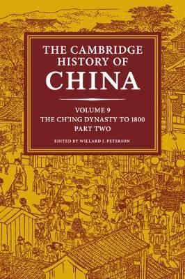 Cambridge History of China vol 9 p2