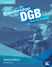 Cambridge for DGB Level 4 Teacher's Edition with Class Audio CD and Teacher's Resource DVD ROM