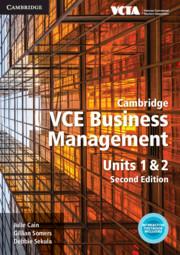 Cambridge VCE Business Management Units 1&2