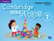 Cambridge Little Steps Level 2 Teacher's Edition