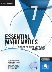 Essential Mathematics for the Victorian Curriculum Year 7 Second Edition (print and interactive textbook powered by HOTmaths)