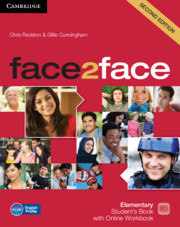 face2face Elementary Student's Book with Online Workbook