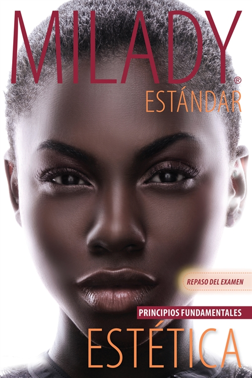 Spanish Translated Exam Review for Milady Standard Esthetics:  Fundamentals