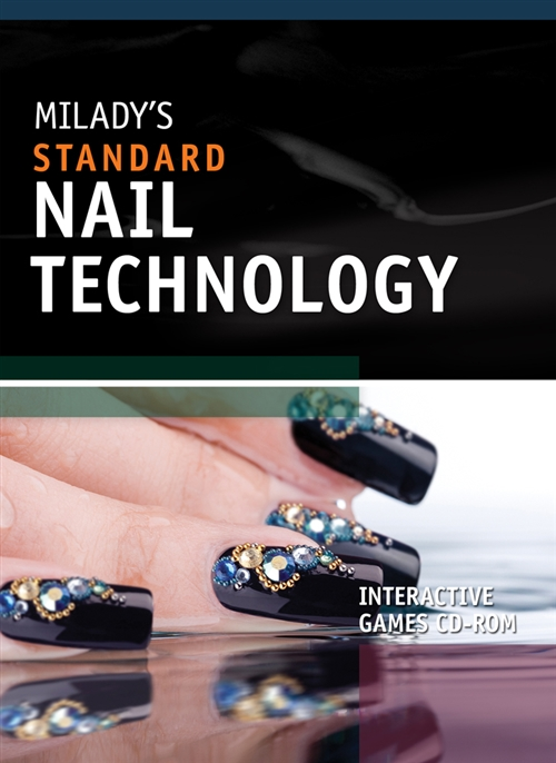 Interactive Games on CD for Milady's Standard Nail Technology