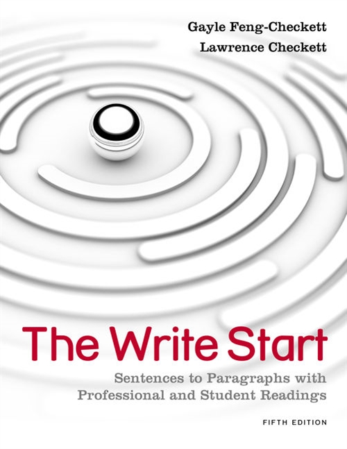 The Write Start : Sentences to Paragraphs with Professional and Student  Readings