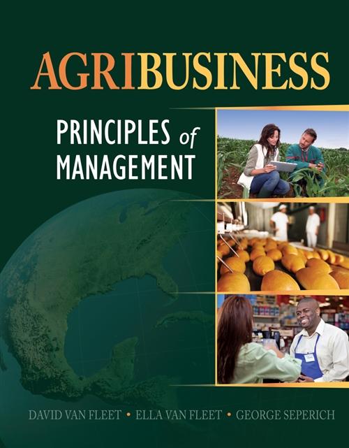 Agribusiness : Principles of Management