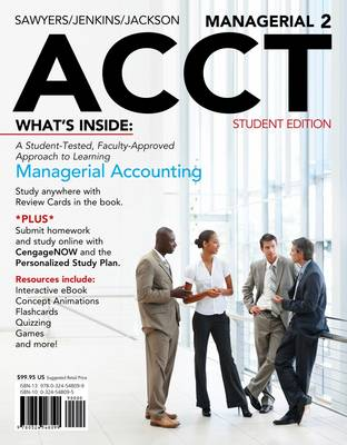 Managerial ACCT2 (with CengageNOW with eBook Printed Access Card)