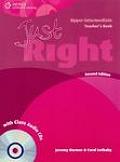 Just Right - Upper Intermediate Teacher Book with Class Audio CD - CEF B2 2nd ed
