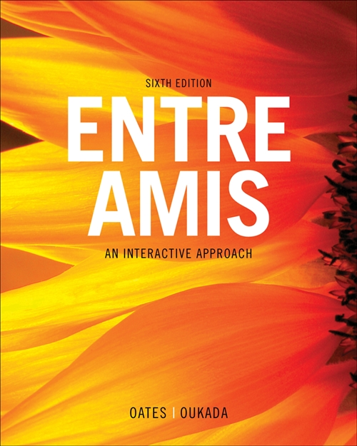 Student Activities Manual Audio Program for Oates/Oukada's Entre Amis,  6th