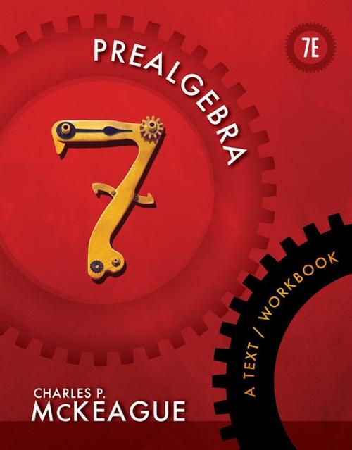 Prealgebra : A Text/Workbook