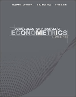Using EViews for Principles of Econometrics