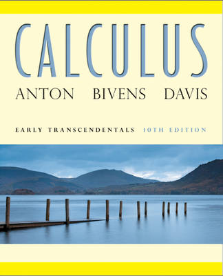 Calculus: Early Transcendentals 10e + WileyPLUS Registration Card