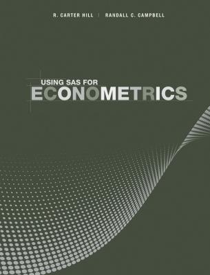Using SAS for Econometrics