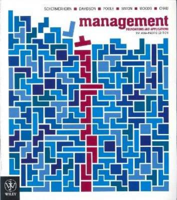 Management Foundations and Applications 1st Asia Pacific Edition + Istudy Version 2 Registration Card + Sustainability Supplement