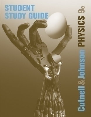 Student Study Guide to accompany Physics, 9e