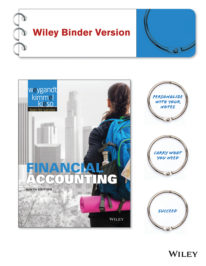 Financial Accounting 9e Binder Ready Version + WileyPLUS Registration Card