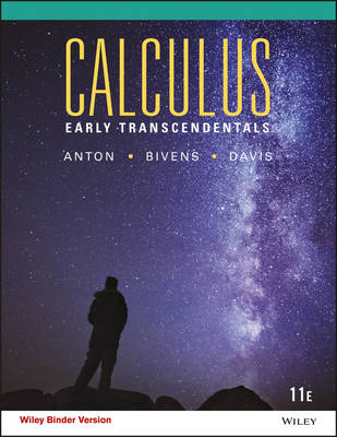 Calculus Early Transcendentals 11th Edition Binder Ready Version