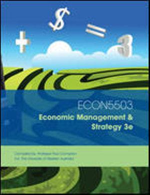 Cust Economic Management and Strategy