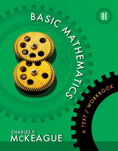 Basic Mathematics : A Text/Workbook