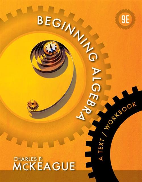 Beginning Algebra : A Text/Workbook