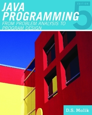"Javaâ""¢ Programming: From Problem Analysis to Program Design"