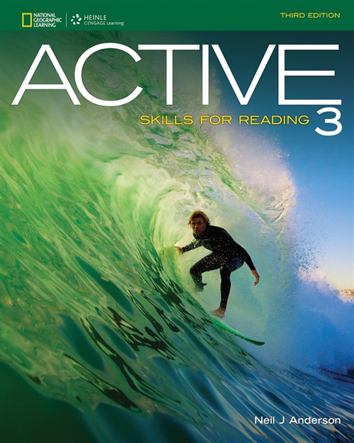 Active Skills for Reading - Level 3 - Upper Intermediate to Advanced - Student Book ( 3rd ed )