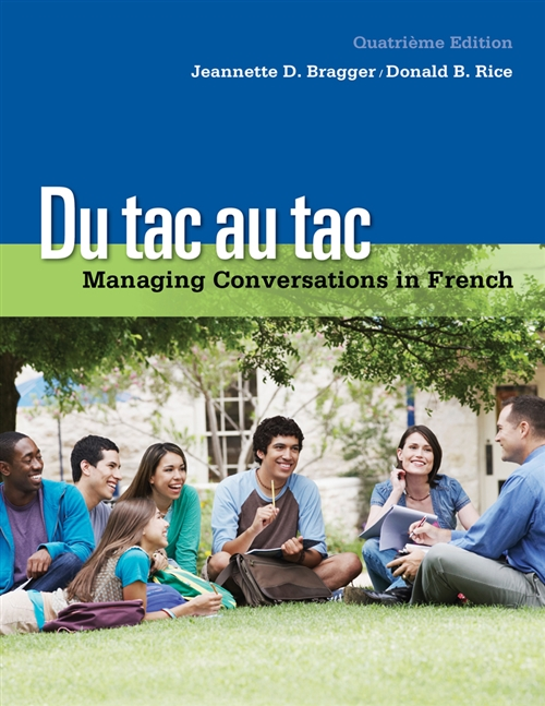 Du tac au tac : Managing Conversations in French (with Premium Web  Site, 4 terms (24 months) Printed Access Card)