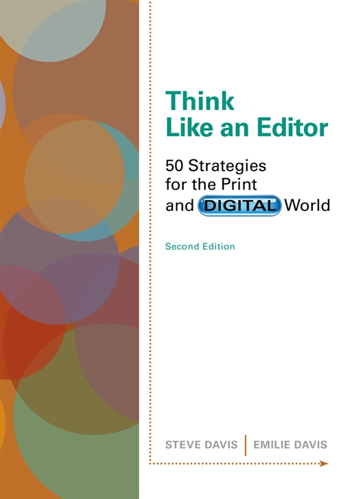 Cengage Advantage Books: Think Like an Editor : 50 Strategies for the  Print and Digital World