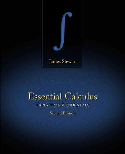 Student Solutions Manual for Stewart's Essential Calculus: Early  Transcendentals, 2nd